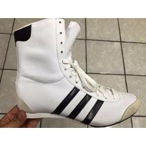 Bota Dama Adidas Entrenamiento Box O Gym Blanca Nueva (r)