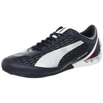 Tenis Puma Power Race F1 Bmw Motorsport Azul Plata Hm4