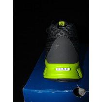 Reebok Smoothflex Cushrun Grvl/green/blue/w 8 Mex Vv4