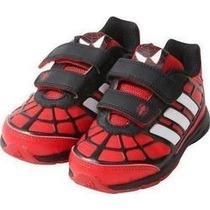 Tenis Adidas Spiderman Para Niño 11 Al 16