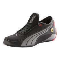 Tenis Puma Alekto Trainers Choclo Ferrari Negro Plata Hm4