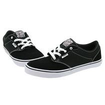 Vans - Tenis Casual - Negro/blanco - Atwood Kids Vn-0ki54fq