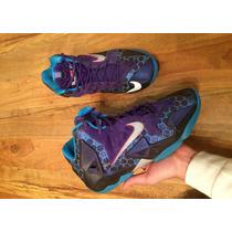 Tenis Nike Edicion Especial Lebron James Morados 24 Original