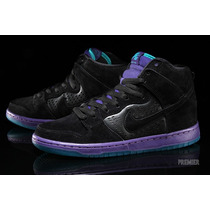 Tenis Nike Sb Dunk High Premium (grape) Max 100% Originales