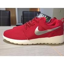 Tenis Nike Roshe Run Color Rojo, Azul, Negro, Gris, Rosa