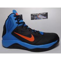 Nike Dual Fusion Bbii Negro-azul (numero 8 Mex) Astroboyshop