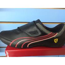 Tenis Puma Drift Cat 3 Scuderia Ferrari Negro Nuevo Y Caja