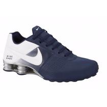 Tenis Nike Shox Deliver Azul Original Para Hombre