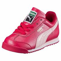 Tenis Puma Roma Clásico Rosa Pastel Dama