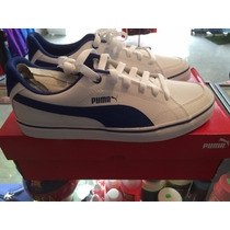 Tenis Casuales Puma 100% Originales Court Point Vulc Blanco