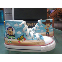 Tenis Converse Personalizados Toy Story Película Boss Iph