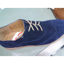 Zapatos Oxford Bostoneano Azul