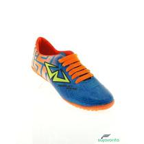 Weasly Wayne Tenis De Soccer A.turq Naranja