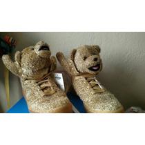 Tenis Adidas Jeremy Scott Gold Bear