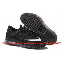 Tenis Nike Air Max 2016 Running Negros Airmax Correr 30mx