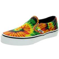 Tb Tenis Vans Kids Classic Slip-on (tie Dye) Skate Shoe