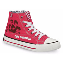 Tenis Tipo Bota Para Niña Modelo One Direction 6 Colores