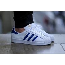 Adidas Superstar 2 Blue And White!