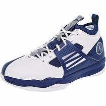Tenis Nike Jordan Cp3 Advance 454110-101 Blanco Marino Pv
