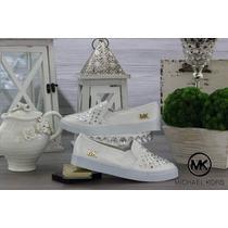 Tenis Mk Flats Mocasines Toms Michael Kors Zapatos Moda Muje