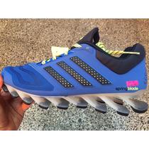 Tenis Adidas Springblade Drive Azul Nuevos Con Caja