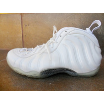Tenis Nike Foamposite One White Out + Envio Dhl Gratis