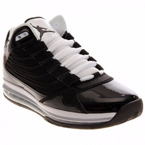 Tenis Nike Jordan Big Ups Air Max Suela Capsula Black White
