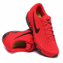 Mujer Tenis Nike Air Max Tailwind Rojo Negro Gym