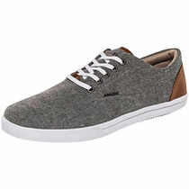 Tenis Daddy Casuales 10005 Gris Camel Oi