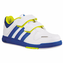 Tenis Trainer 6 Para Niño 2 Tiras De Velcro Adidas B40720