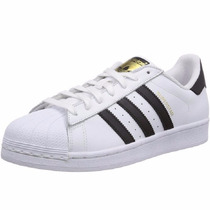 Mujer Tenis Adidas Superstar Originals Retro White & Black