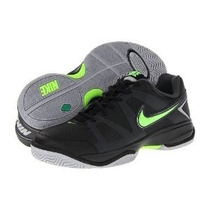 Nike City Court V I I Negro/verde Men 27.5 Originales!!