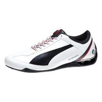 Tenis Puma Bmw Power Race Sl Blanco Piel