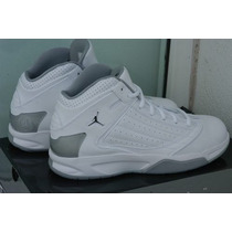 Nike Jordan F2f Blanco/plata Talla 28.5 Mex
