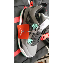 Tallas Entrega Hoy Air Jordan 4 Green Glow Nba Kobe Lebron
