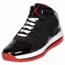Tenis Nike Jordan Big Ups Air Max Suela Capsula Black Red