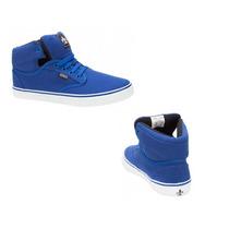 Tenis Botín Urban Shoes 0125 Azul Rey