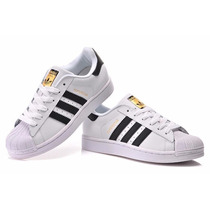 Adidas Superstar Fundation Oro Envio Gratis Blanco Originale