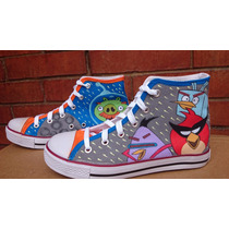 Tenis Converse Personalizados Mano Angry Birds Outfit Iph