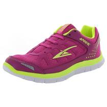 Tenis Color Rosa Super Ligeros Y Comodos Para Correr Dama