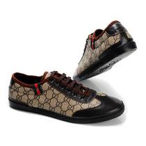 Zapatos Tenis Casuales Varios Modelos Color Cafe Negro Blanc