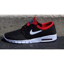 Tenis Nike Sb Stefan Janoski Max Black University Red 2016