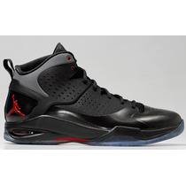 Tenis Nike Air Jordan Fly Wade Negro/rojo - 8mx - 10us