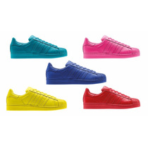 Tenis Adidas Supercolors Varios Colores Envio Gratis