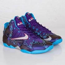 Nike Lebron Xi Cumbre Lago Hornets 7,5 Mx