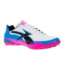 Tenis Turf Concord Blanco C Azul Y Rosa