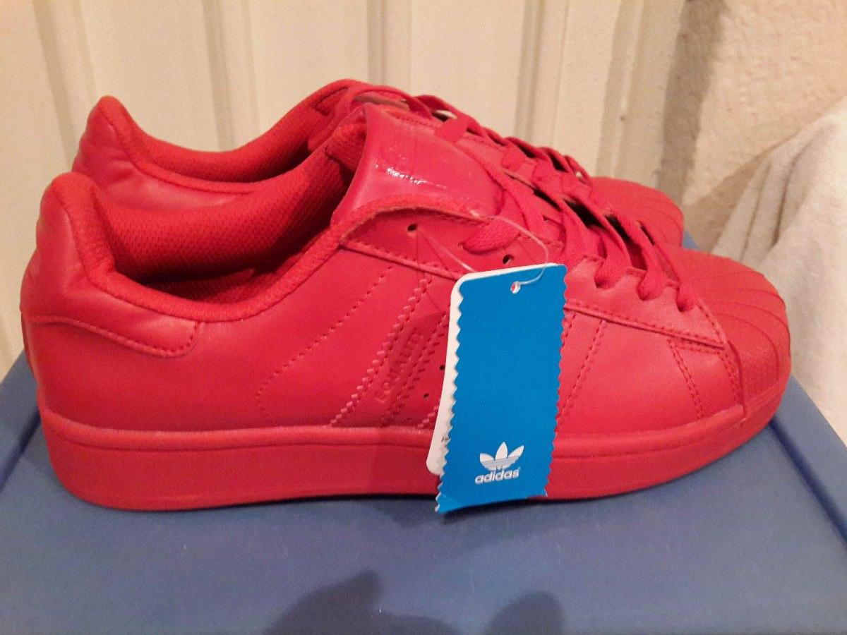 Adidas Superstar Colores Rojo