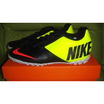 Tenis Turf Futbol Nike 100% Originales Bomba Ii Profesional