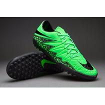 Tenis Nike Hypervenom 2 Verde Neymar 2015 Turf