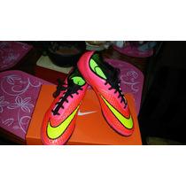 Tenis Nike Hypervenom Rosas # 7mx